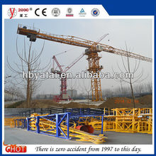 Popular Hot-selling colorful Topless tower crane for 10t hoist crane