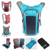 2015 newest outdoor solar panel backbag with a 6.8W/6V sun power panel