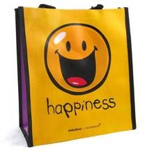 Custom Promotional Logo Laminated Non Woven Shopping Tote Bag