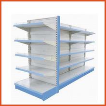 Powder Coating Metal Back Board Supermarket Shelf