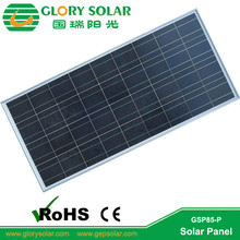 high quality 140W poly solar panel in china