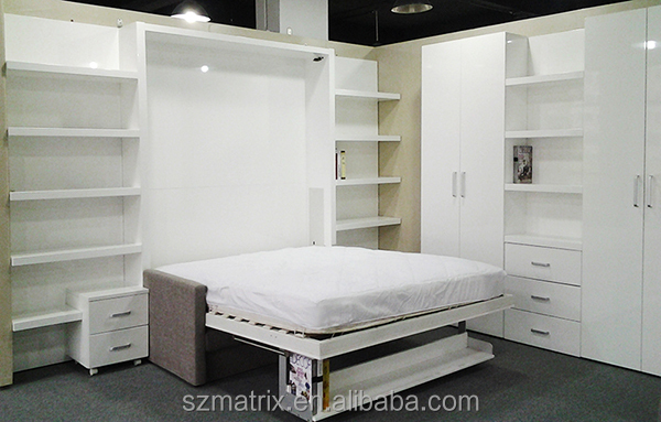 Modern Wall Bed Fold Out Sofa Bed Pull Down Wall Bed View