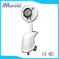 Dongguang supply Brushless DC Motor D-6C Portable 18 inch 60w 220v water spray mist fan water room cooler fan