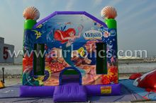 Customize Beautiful Castle Inflatable Bounce House/ Bouncy Castle/ Bouncer and Jumper for Kids A2147