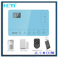 Touch-screen alarm auto dialer wireless gsm security system with ISO & Android phone