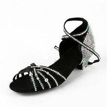 Oem alibaba chine chaussures de danse douanes latine robe de danse
