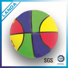 size 1 Colorful Rubber Basketball