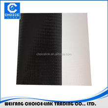 the PVC waterproofing plastic membrane with polyester reinforced