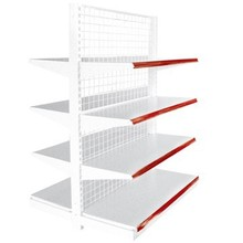 Double-sided Advertising Display Supermarket Shelf/Display Wall Mounted Shelves/Wire Supermarket Goods Shelf