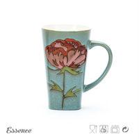 Unique design cool durabel glazed keep cup