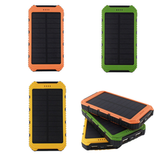 Portable Solar Charger outdoor sports 8000mah Solar Power Bank