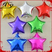 party decoraton foil five-pointed star balloon