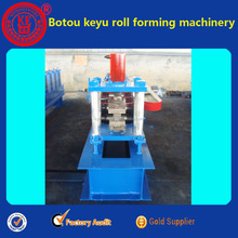 Light steel roll forming machine and press part for purlin
