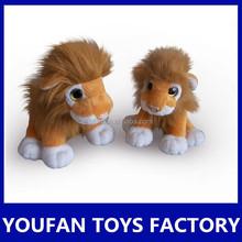 lifelike factory sale plush toys lion