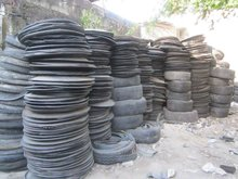 scrap rubber tires
