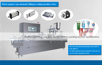 Plastic(paper) cup automatic filling machine