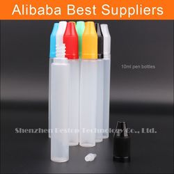 New type plastic bottle dropper eliquid blunt needle cover and dart drip electronic smokeing liquid Free Shrink Film