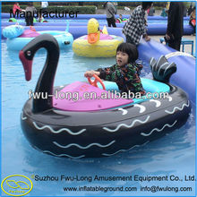 Promotion Cartoon Design Kids Electric Inflatable Bumper Aqua Boat for Sale with CE