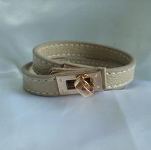 Fashion beef bone bracelet,Cow bone bracelet with leather,Bone jewelry