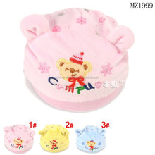 MZ1999 Hot sale newborn baby christmas beanie hats 2015