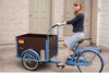 2015 hot sale three wheel new coffee tricycle electric cargo bike