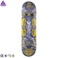 cheap 9 ply maple longboard skateboard