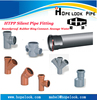 Hot Sell plastic fitting PP pipe fitting, pipe rubber seal ring