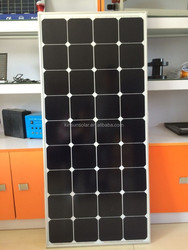 100W sunpower mono solar panel ,solar module ,solar cell