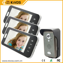 Home Automation 7 Inch Wireless Video Door Phone With Motion Ditector From Hongji