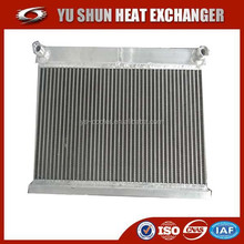 high performance plate fin customized aluminum universal oil radiator/oil cooler/ heat exchanger