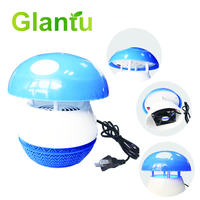 Best-selling photocatalytic LED lovely mushroom mosquito killer lamp, electronic mosquito trap insect repeller