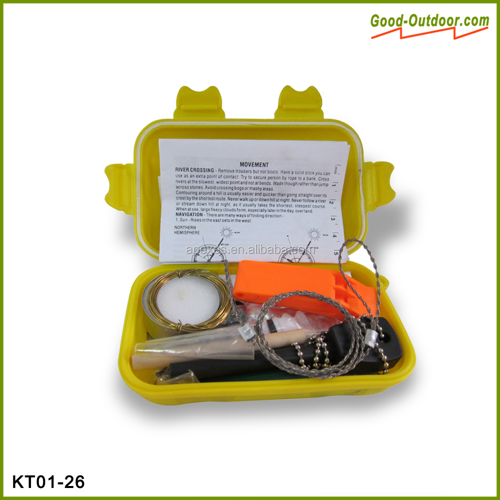Universal nato survival compact fishing kit view compact for Survival fishing kit
