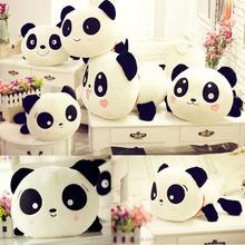 Lovely white and black panda pp cotton seat cushion wholesale