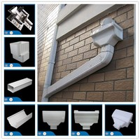 different family,same choise,plastic water gutter accessories