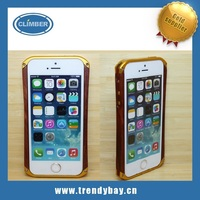 Wooden bumper case for iphone 5s