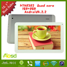 2014 whole mtk8382 cdma 3G 10.1 inch cheap quad core 8gb flash tablet android 4.2