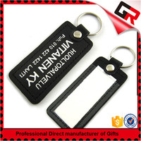 Newest hot sell leather keyring for promotion