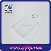 Cheap Clear Acrylic Bulk Photo Keychains
