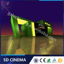 2015 Factory Price Supplier Funny Games 5D Cinema Including The Cabin/Box
