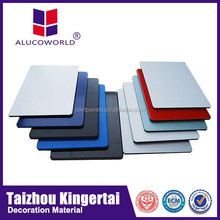 soundproof material China supplier Alucoworld Interior Wall Decorative ACP