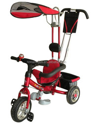 4/1 push car Child tricycle / three wheels kid Tricycle / Baby tricycle with sunshade