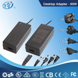 china alibaba power supplies dc / 12v 5a power supplies with TUV GS UL SAA