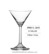 4.5oz Cheap crystal long stem mini Cocktail glass martini glass