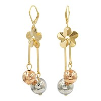 China Jewelry Factory 18K Gold Earrings Fashion Earring Findings Wholesale Jewellery