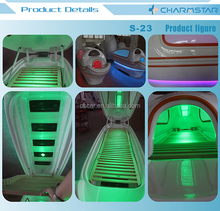 2015 newest far infrared sauna weight loss capsule S-23 / infrared LED beauty bed / led light spa capsule