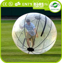 Top Quality hamster ball for adults,crystal ball water fountain,toy water filled balls