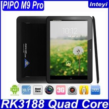 "10.1"" Pipo M9 Pro 3G RK3188 Quad Core 4.2 Android Tablet PC Retina 1920*1200 Good Camera Built-in 3G/GPS/BT/OTG 2G 32G"
