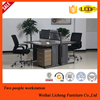 Curved office desk with steel legs/commericial furniture office desk