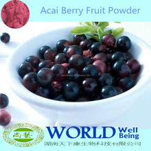 GMP Factory 100% Natural Fruit Drink Acai Berry Powder Weight Lose Acai Berry Fruit Juice Powder/Freeze Dried Acai Powder