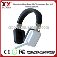 overhead with CE RoHS bling headphone for laptop